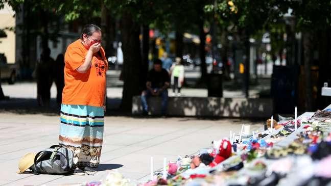 Os povos indígenas agora exigem que as crianças desaparecidas sejam encontradas.