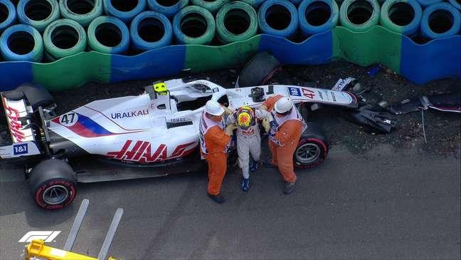 Mick Schumacher bateu forte no TL3 do GP da Hungria de Fórmula 1