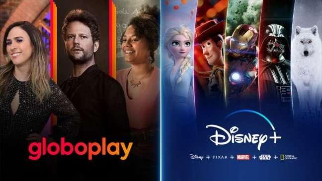 Globoplay e Disney+