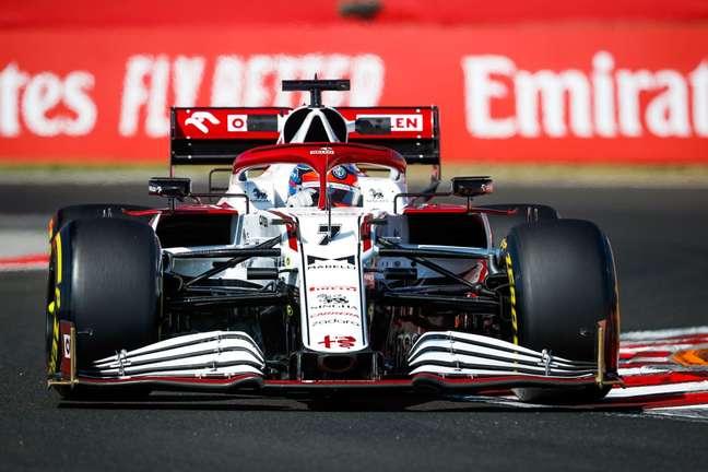 Kimi Räikkönen alcançou a maior velocidade em Hungaroring