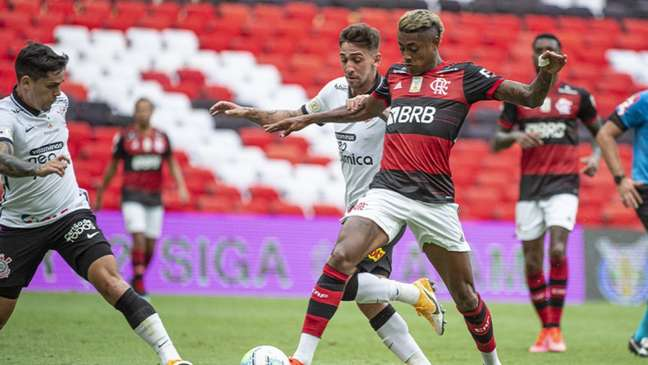 Corinthians e Flamengo se enfrentam neste domingo na Neo Química Arena (Foto: Alexandre Vidal / Flamengo)