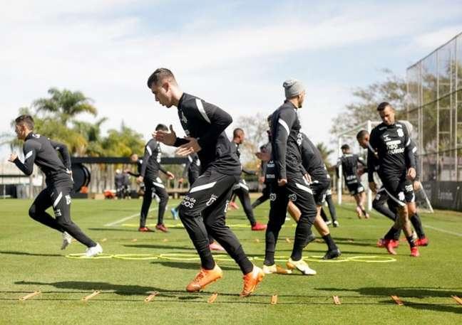 Corinthians encerrou sua preparação para enfrentar o Flamengo (Foto: Rodrigo Coca/Ag. Corinthians)