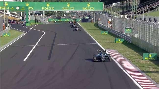 Matteo Nannini superou Enzo Fittipaldi e faturou a vitória na corrida 2 da F3 na Hungria