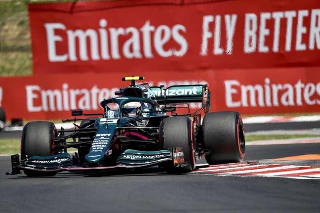 Sebastian Vettel saiu satisfeito com o décimo lugar