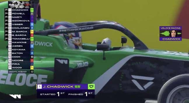 Jamie Chadwick dominou e reassumiu liderança do Mundial