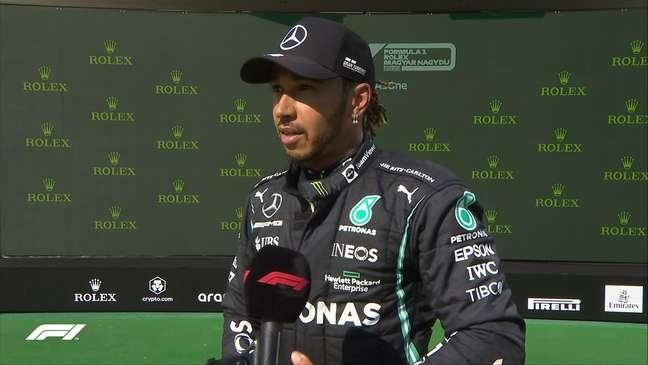 Lewis Hamilton é o pole do GP da Hungria
