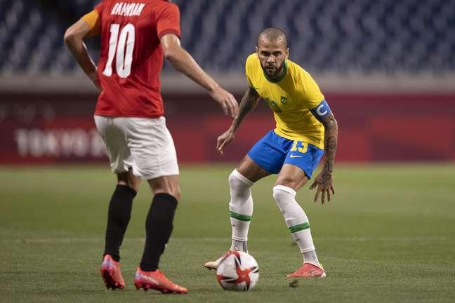 Daniel Alves é o capitão da seleção olímpica