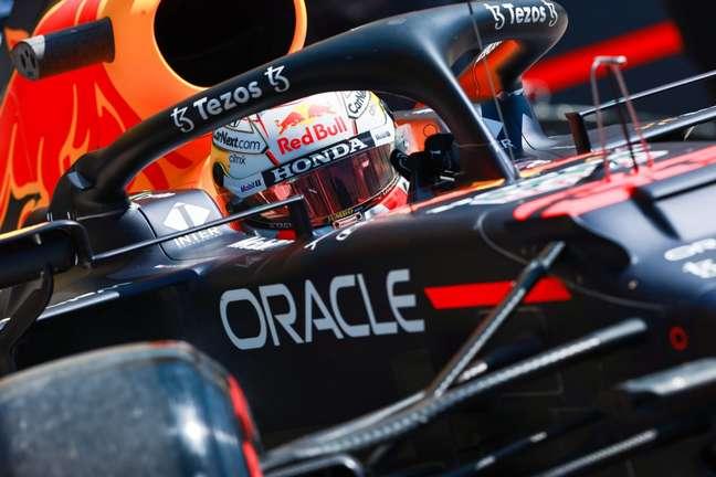 Max Verstappen assegurou o terceiro posto no grid da Hungria