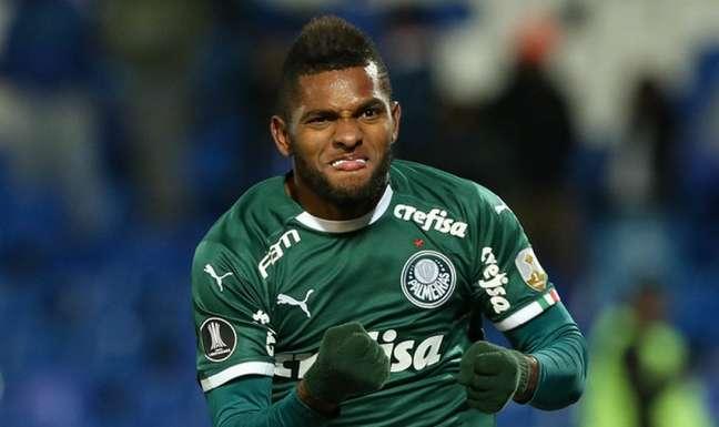 Borja tem contrato com o Palmeiras até o fim de 2022 (Foto: Agência Palmeiras/Divulgação)