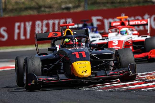 Ayumu Iwasa venceu pela primeira vez na Fórmula 3