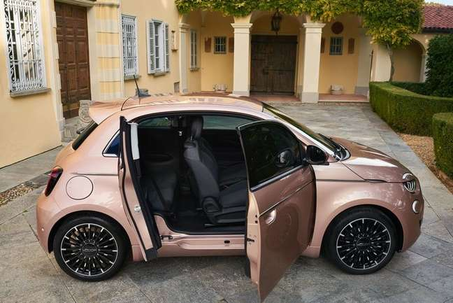 Fiat 500 elétrico: inovador.