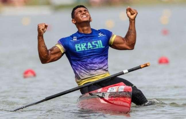 Isaquias é o único atleta brasileiro que conquistou três medalhas em uma edição das Olimpíadas (Foto: Divulgação)