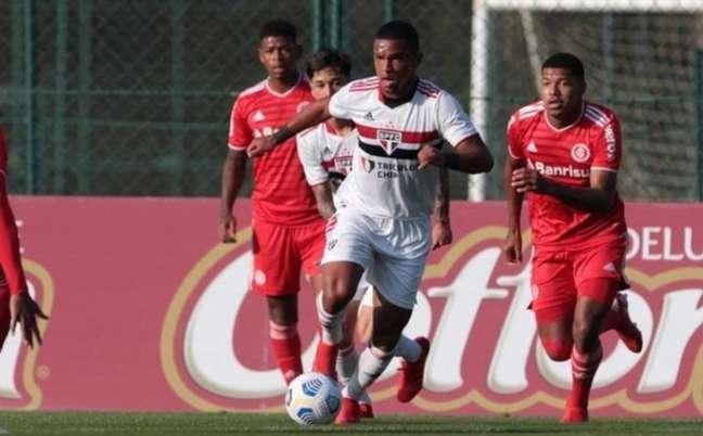 São Paulo e Internacional empataram em 1 a 1 (Foto: Rubens Chiri/ saopaulofc.net)