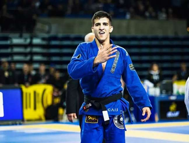 Matheus Gabriel quer dar um show de Jiu-Jitsu para os fãs brasileiros (Foto Vitor Freitas / TATAME)
