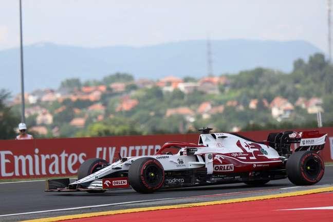 Räikkönen atingiu 322.2 km/h no GP da Hungria