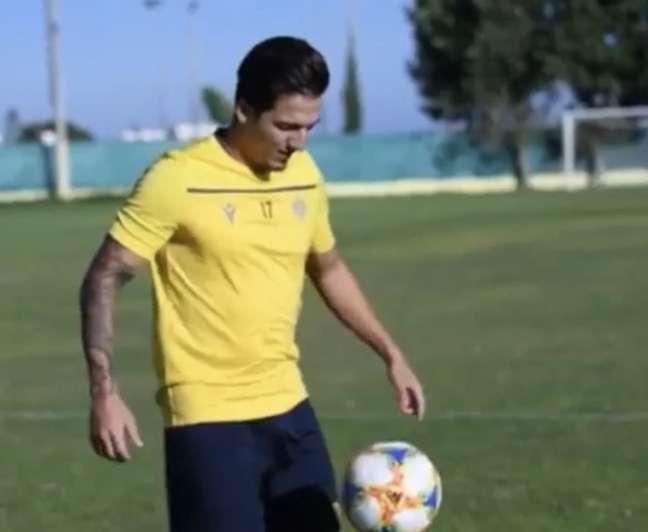 Euller é destaque do AEL Limassol (Foto: Divulgação/AEL)