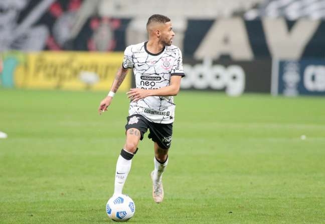 Vitinho marcou o gol de honra do Corinthians na derrota para o Flamengo (Foto: Rodrigo Coca/Ag. Corinthians)