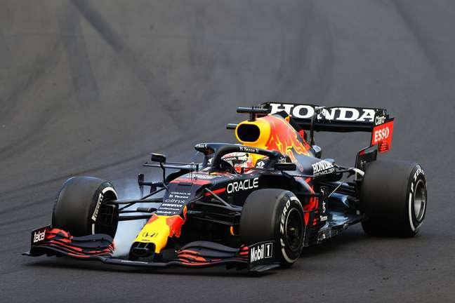 Max Verstappen sofreu com as avarias no seu carro durante o GP da Hungria