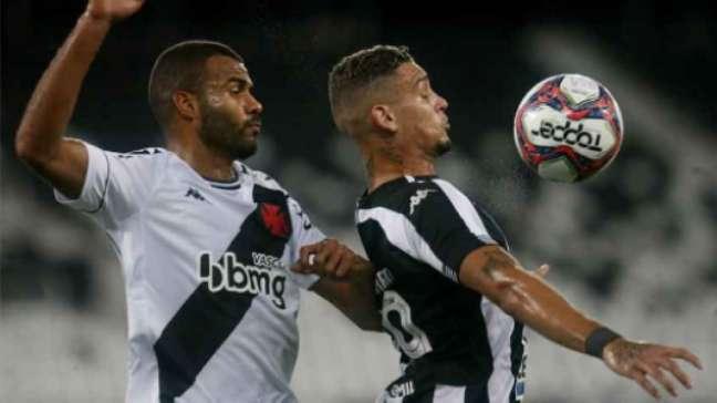 Defesa do Vasco falhou mais uma vez na Série B (Vítor Silva / BFR)