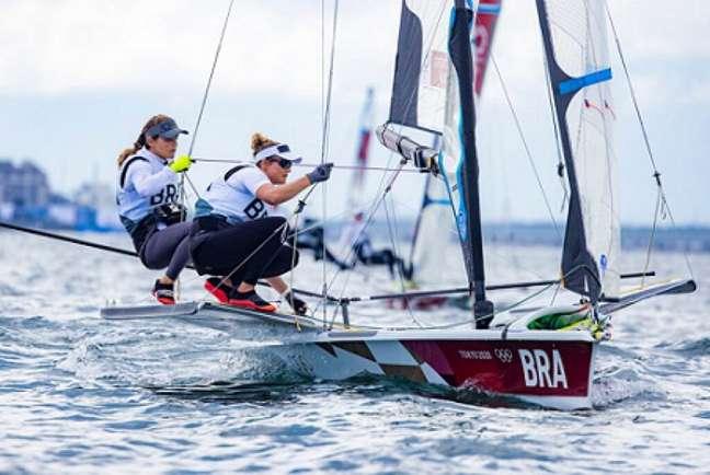 Martine e Kahena tentam manter tradição de medalhas da vela em Jogos Olímpicos (Foto: World Sailing)