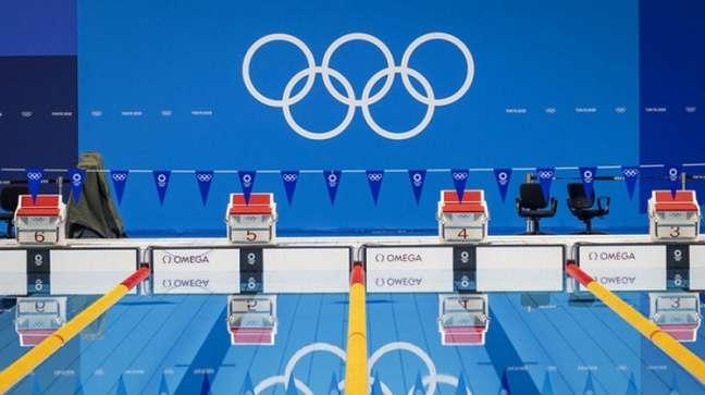 Austrália e Estados Unidos vencem o revezamento 4x100m medley feminino e masculino, respectivamente (Foto: AFP)