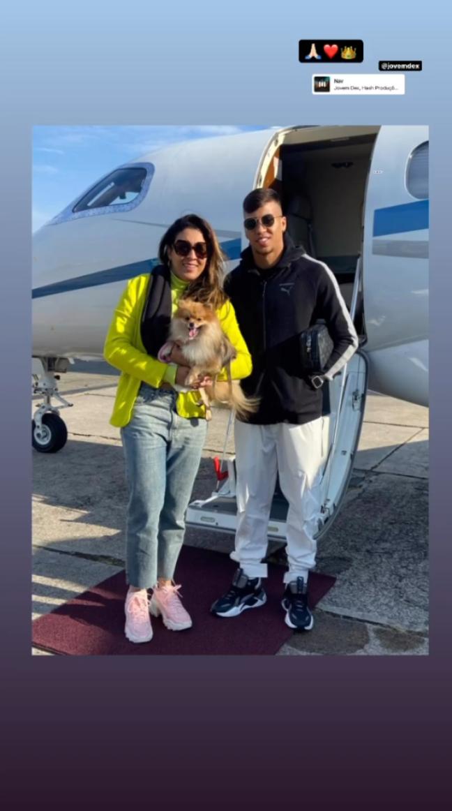 Atacante Kaio Jorge retornou ao Recife. (Foto: Reprodução/Instagram)