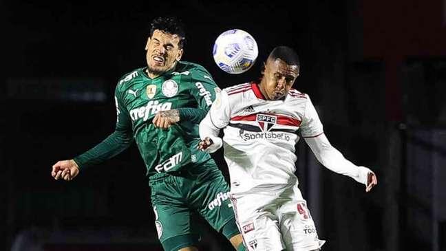 São Paulo e Palmeiras empataram em 0 a 0 no Morumbi (Foto: Cesar Greco / Palmeiras)