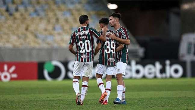 Fluminense venceu o Criciúma no Maracanã pela Copa do Brasil (Foto: Lucas Merçon / Fluminense FC)