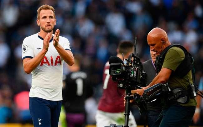 Harry Kane pode não fazer parte dos planos do Manchester City nas próximas semanas (Foto:DANIEL LEAL-OLIVAS / AFP)