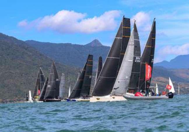 Disputas acirradas marcaram a Semana de Vela de Ilhabela (Foto: Caio Souza | On Board Sports)