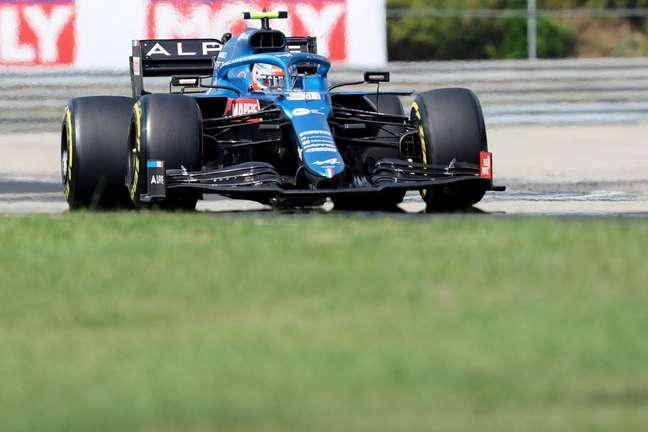 Esteban Ocon, vencedor de corridas na F1