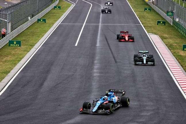 Esteban Ocon venceu o GP da Hungria com autoridade, a primeira dele na Fórmula 1