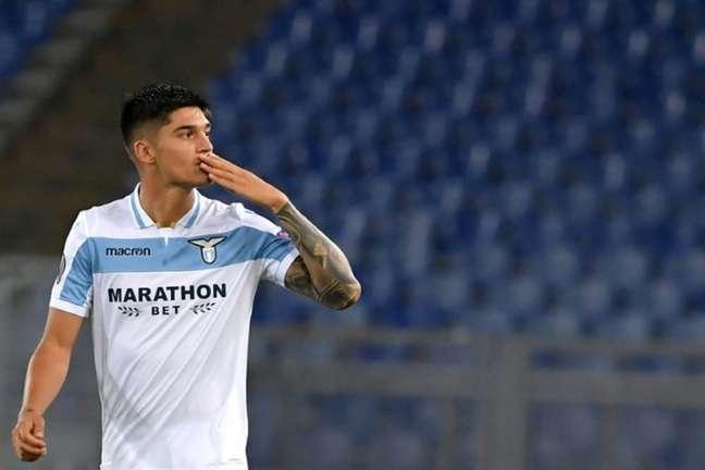 Joaquin Correa é alvo da Inter de Milão caso Lautaro Martínez deixe o clube (AFP)