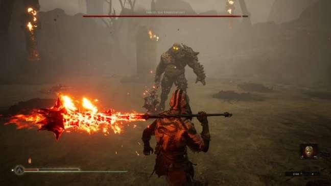 Encare inimigos poderosos em Mortal Shell