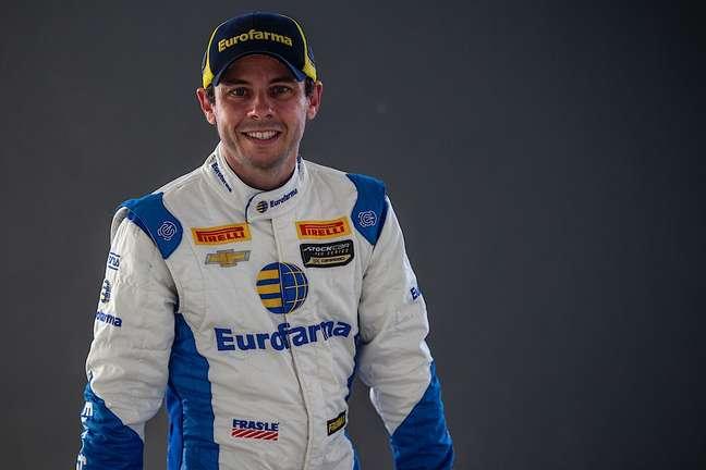 Ricardo Maurício defenderá o título na temporada 2021 da Stock Car.