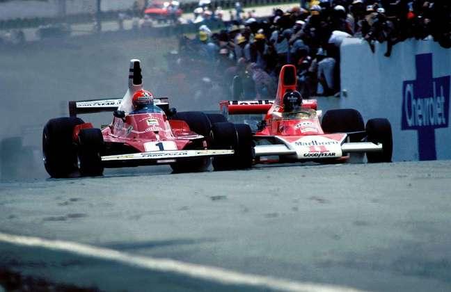 Duelo entre Lauda e Hunt na Espanha