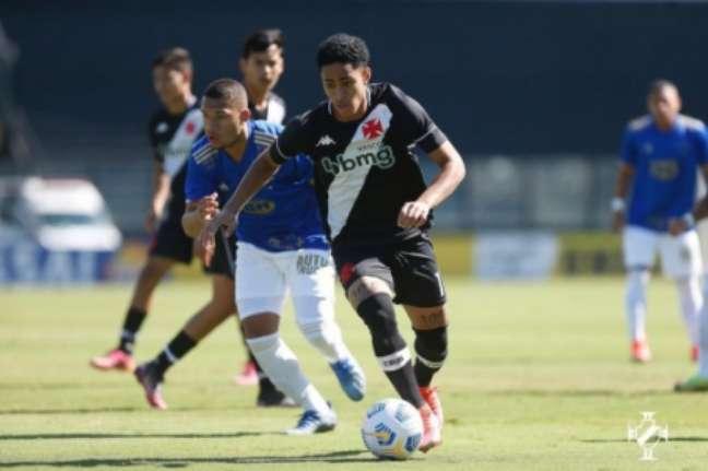 Vasco goleio o Cruzeiro no Brasileirão Sub-17 (Rafael Ribeiro / Vasco)