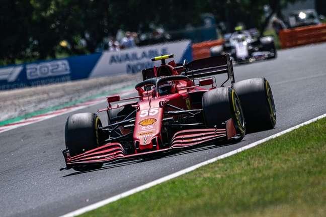 Carlos Sainz quase foi ao pódio do GP da Hungria