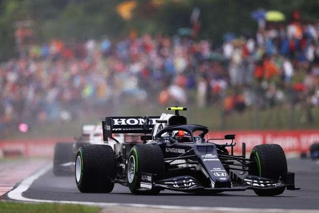 Pierre Gasly foi sexto colocado no GP da Hungaria