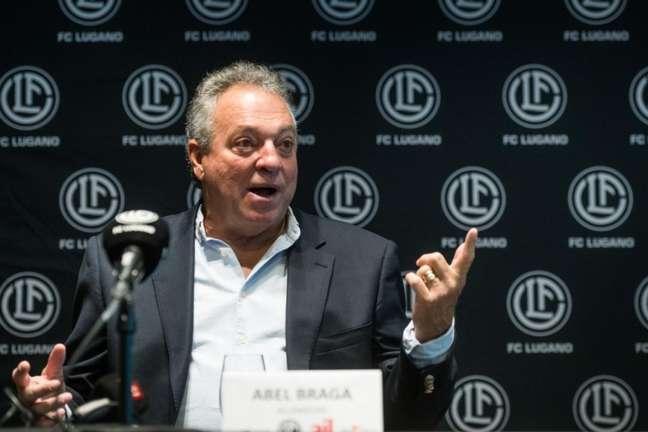 Abel Braga conquistou primeira vitória no Lugano (FC Lugano)