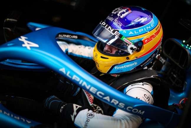 Alonso terminou o GP da Hungria em quinto