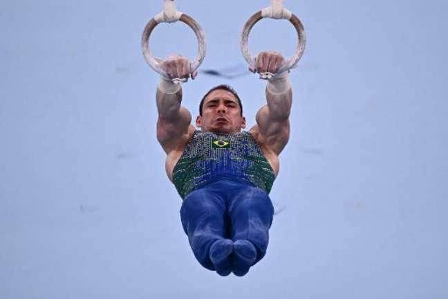 Arthur Zanetti ficou sem pódio nos Jogos Olímpicos de Tóquio (Lionel BONAVENTURE/AFP)