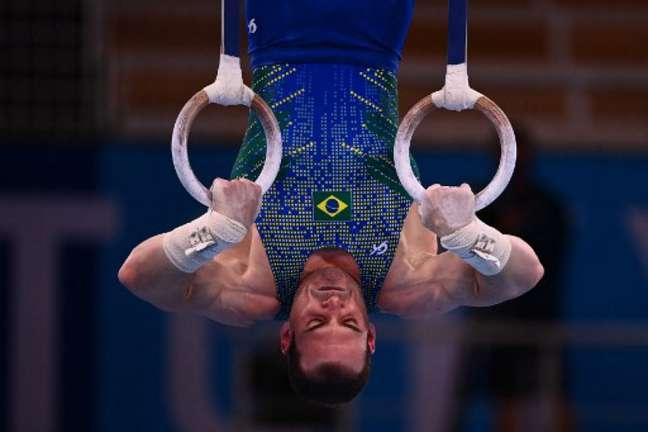 Zanetti tem duas medalhas olímpicas, mas passou em branco nos Jogos de Tóquio (Foto: LOIC VENANCE / AFP)