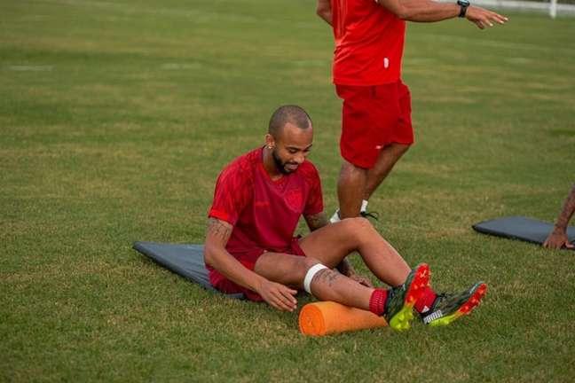 Galo precisa reverter o placar sofrido no jogo de ida diante do Fortaleza (Foto: Divulgação/CRB)
