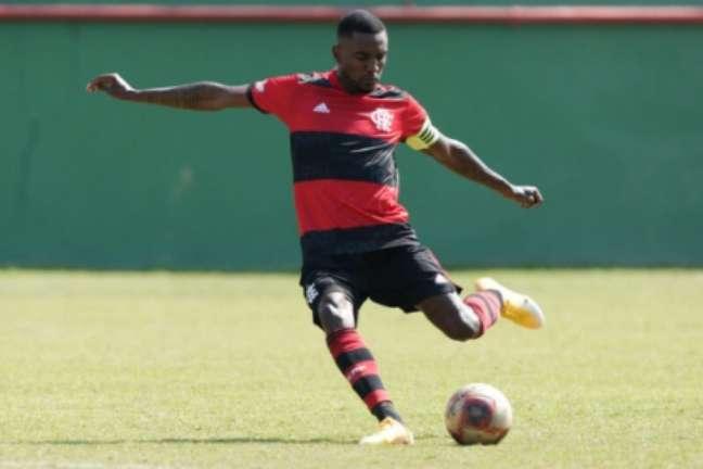 Ramon tem sido capitão do sub-20 (Foto: Gilvan de Souza/Flamengo)