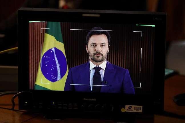 Fábio Faria, ministro das Comunicações de Jair Bolsonaro
