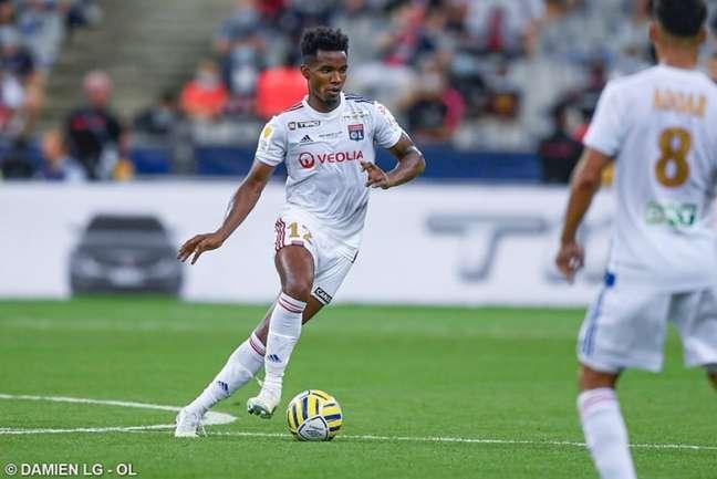 Thiago Mendes em ação pelo Lyon (Foto: Divulgação/Lyon)