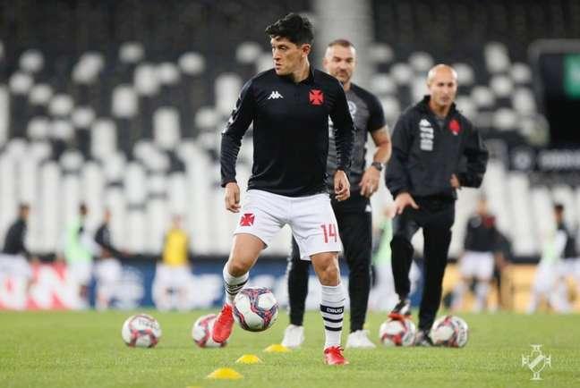 Cano segue como a esperança de gols do Vasco para a sequência da temporada (Rafael Ribeiro/Vasco)