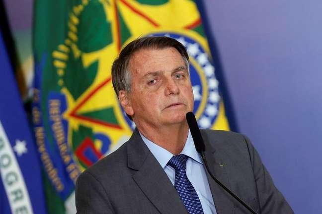 O presidente Jair Bolsonaro 27/07/2021 REUTERS/Adriano Machado