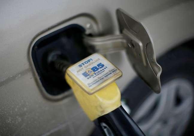 Combustível etanol em posto de gasolina no Iowa, EUA.  06/12/2007  REUTERS/Jason Reed
